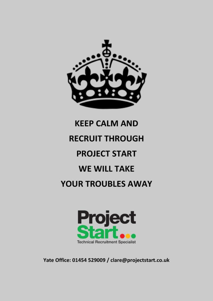 Keep calm and recruit through Project Start