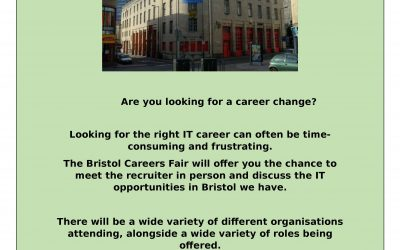 Are you attending the Bristol Careers Fair on 9th November? Come and meet Project Start there……