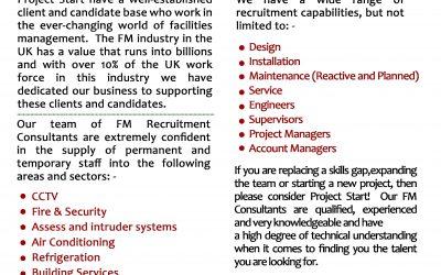 New Facilities Management Recruitment Desk!!!