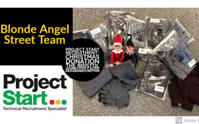 Bristol Homeless Christmas Donation – in partnership with the Blonde Angel Street Team