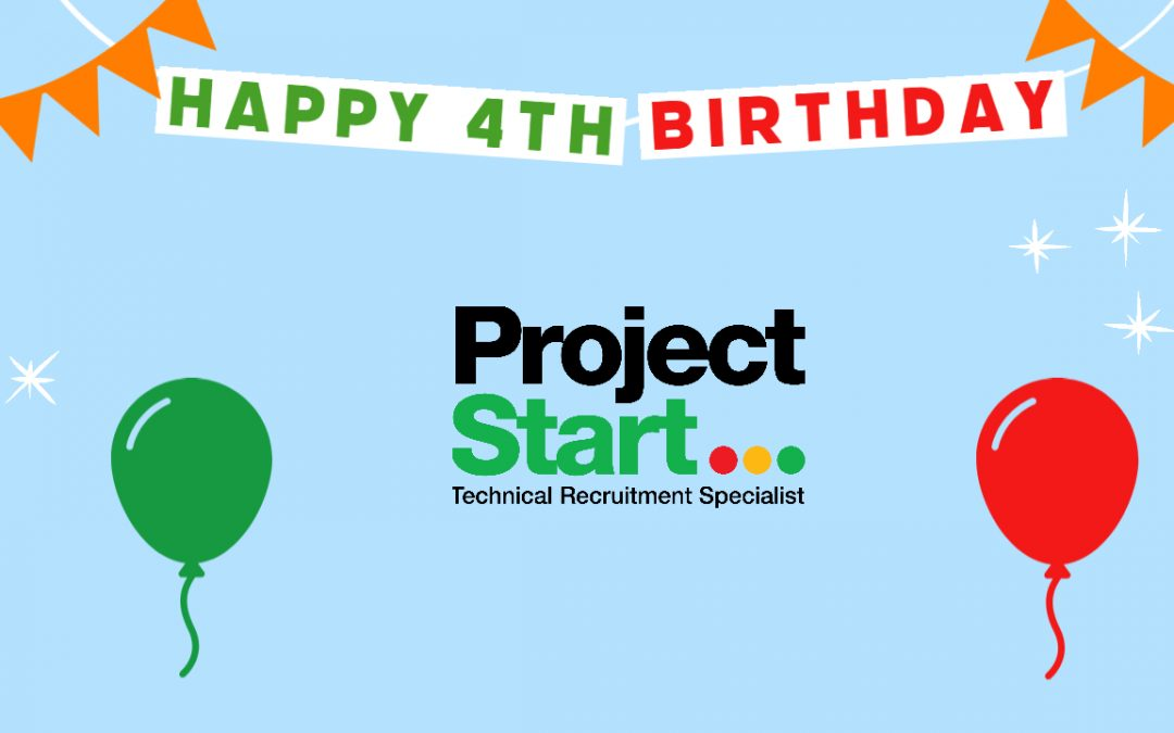 Celebrating 4 years at Project Start