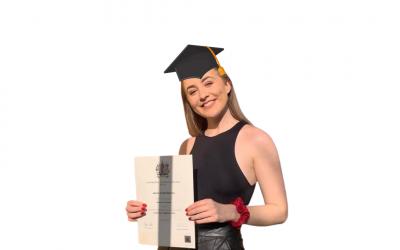 Our Digital Marketing Executive has graduated